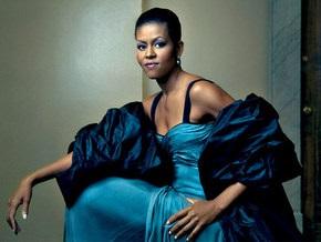 Мишель Обама украсила обложку Vogue