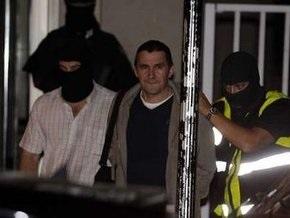 Испанская полиция арестовала лидера баскских радикалов