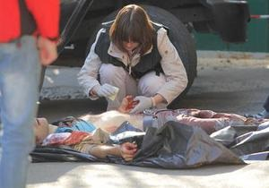 Фотогалерея: Одним ударом. Хладнокровное убийство в центре Киева