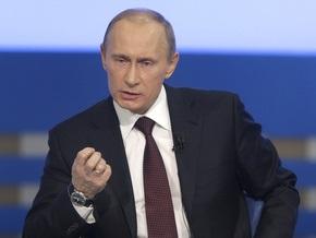 Путин обвинил акционеров ЮКОСа в организации убийств