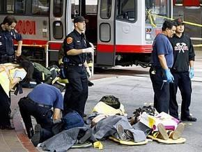 В Сан-Франциско столкнулись пассажирские поезда