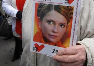 СМИ: Больницу с Тимошенко усиленно охраняют, под окнами палаты собрались ее сторонники