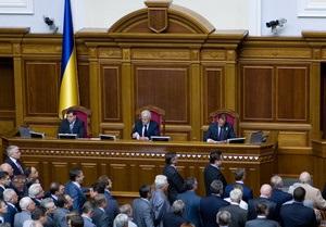 Рада решила повременить с обращением в КС по поводу сроков полномочий Президента и нардепов