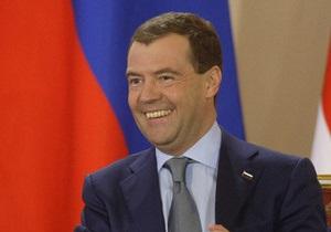 Медведев прочитает лекцию студентам университета им. Т.Шевченко