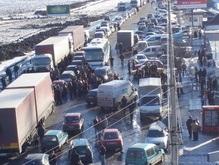 На границе с Украиной умер польский водитель