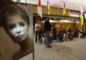 Возле Печерского суда бютовец повредил милицейскую видеокамеру