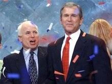 Маккейн раскритиковал Буша за  пытки  в Гуантанамо