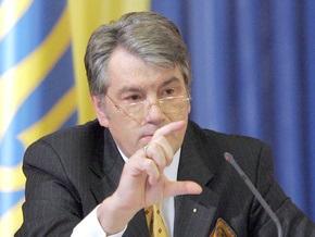 Ющенко отмечает положительные явления в банковской системе