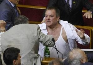 Колесниченко заявил, что  недомерки  угрожали распять его на березе