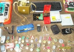 Киевская милиция ищет владельцев похищенных из квартир вещей
