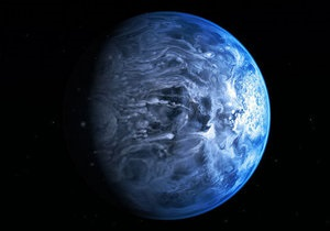 Новости науки - космос - Хаббл: Хаббл сфотографировал ярко-голубую планету
