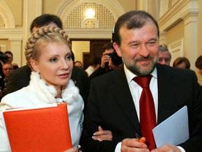 Балога поздравил Тимошенко
