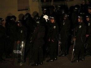 На вокзале в  Рио-де-Жанейро пассажиры забросали полицейских камнями