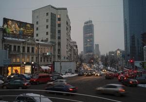 Власти планируют завершить разработку стратегии развития Киева до июня 2011 года