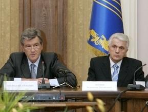 Ющенко надеется, что избрание Литвина разблокирует работу Рады