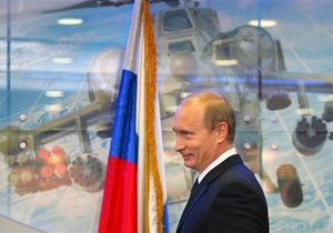 Путин намерен оснастить армию РФ современным вооружением к 2020 году