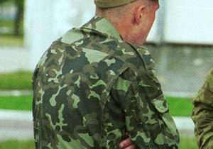 Источник: В Винницкой области застрелился солдат срочной службы
