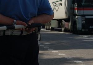 В Ровенской области угнали фуру с восемью тоннами лекарств