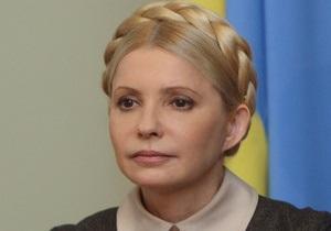 Тимошенко просит разрешения на поездку в Брюссель и Вильнюс