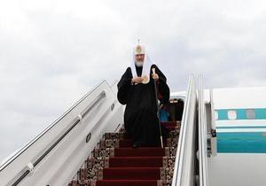 Патриарх Кирилл прилетел в Одессу