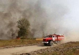 В Черкассах горел завод