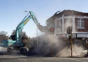 Ущерб от землетрясения в Новой Зеландии составляет более $1,4 млрд