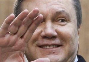 Янукович поздравил Кличко: Вы - гордость нации