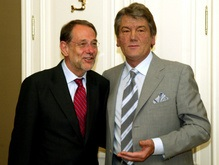 Завтра Ющенко встретится с Соланой