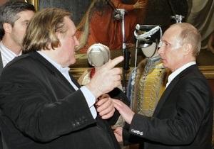Депардье России: В Сочи состоялась встреча Депардье и Путина