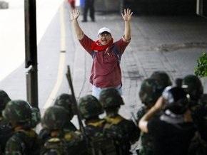 В пресечении беспорядков в Бангкоке участвуют около 37 тысяч солдат