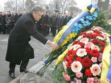 Украинские политики почтили память погибших под Крутами
