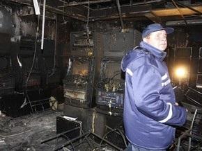 В МВД заявили о вероятности поджога зала игровых автоматов в Днепропетровске