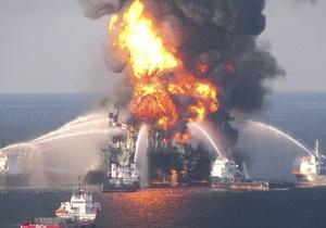 Назвали предположительную причину взрыва на буровой платформе в Мексиканском заливе