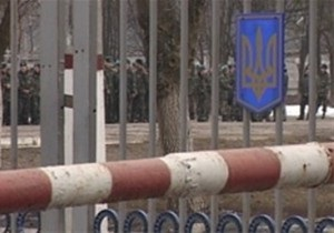 В Крыму совершено вооруженное нападение на воинскую часть