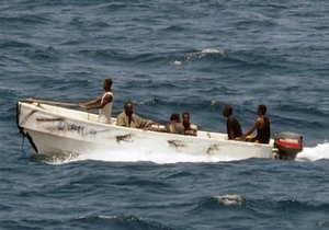 Пираты захватили судно с украинцами на борту