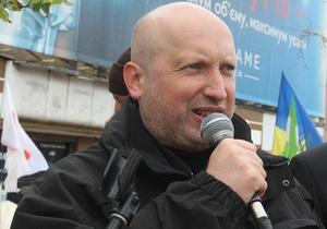 Турчинов: Цель ночных спецопераций  - обеспечить присутствие Тимошенко на судилище