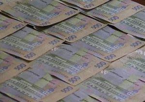 В этом году украинские чиновники получили взяток на сумму более 12 млн гривен
