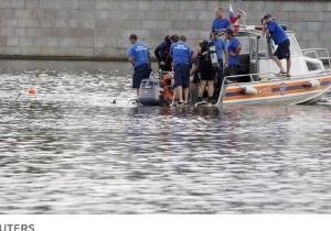 Затонувшее на Москве-реке судно шло с перегрузом
