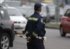 новости Киева - В центре Киева пьяный мотоциклист сбил сотрудника ГАИ