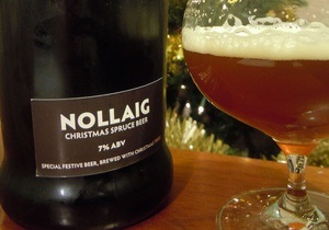 В Шотландии сварили пиво из новогодней елки