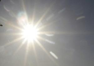 В начале следующей недели в Украине сохранится жара и высокая пожароопасность