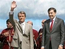 Ющенко в Тбилиси: Наше сердце принадлежит вам