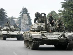 Грузинские войска двинулись на мятежную военную базу