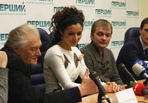 Пресс-конференция Златы Огневич - Евровидение 2013 - национальный отбор