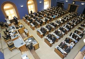 Действующий президент Эстонии переизбран на второй срок