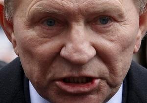 Кучма: Очной ставки c Мельниченко не будет никогда