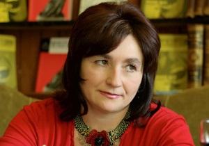 Украинская писательница Матиос заявила о преследовании со стороны ГПУ и МВД