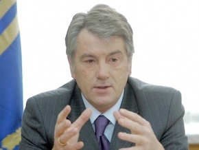 Ющенко начал визит в Прагу со встречи с представителем Госдепа США