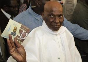 Президент Сенегала Абдулай Вад признал свое поражение на выборах
