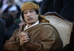 Авиаудар по территории резиденции Каддафи: 15 человек ранены